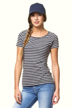 Lady Striped Tee (ST214)