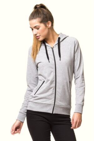 Lady Sport Hooded Zip (ST729)